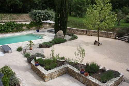 Tuin met vrij uitzicht